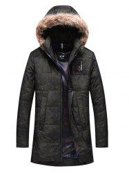 1917 - A362 Thickening Cotton-padded Jacket for Men -