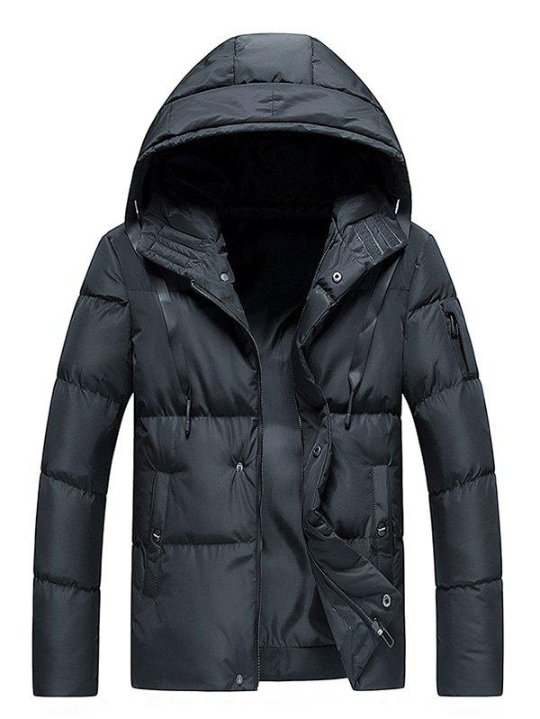 Chic Winter Thick Cotton-padded Jacket for Men