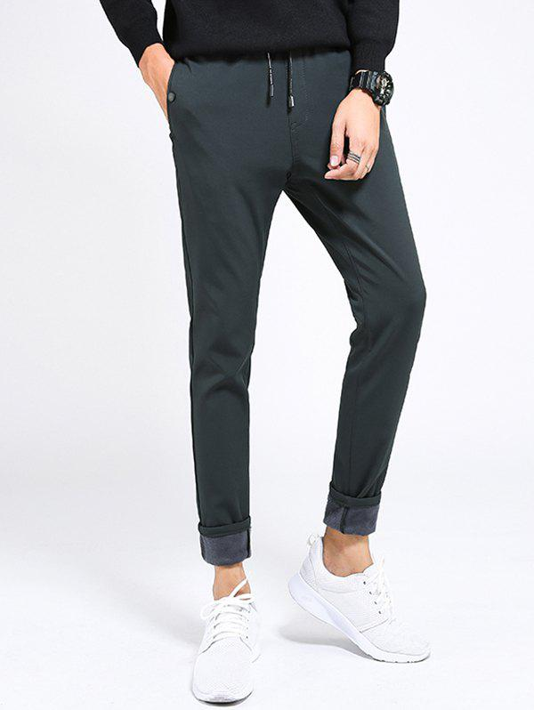 Fancy 838 - A2 - 1057 - 1058 Casual Velvet Thickening Pants for Men