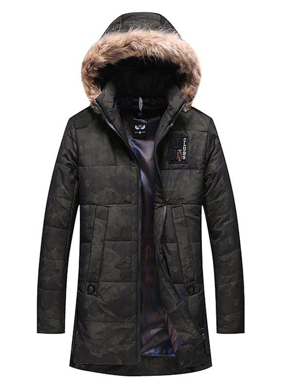 Best 1917 - A362 Thickening Cotton-padded Jacket for Men