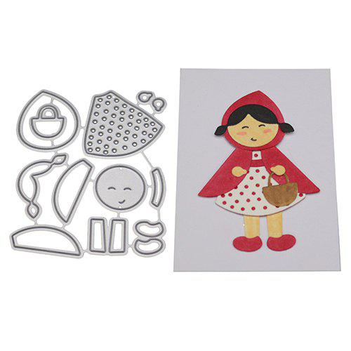 New Little Red Riding Hood Carbon Steel Cutting Dies