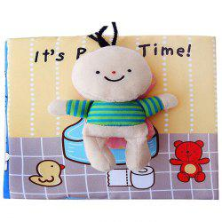 Baby Early Education Puzzle Cloth Book for 0 to 6 Years Old Children -
