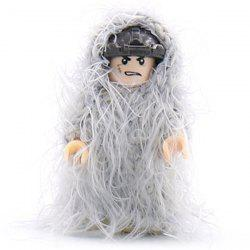 Military Building Blocks Man-made Accessories Ghillie Suit -