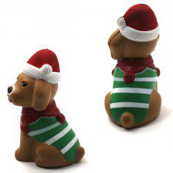 Christmas Puppy Slow Rebound Toy -