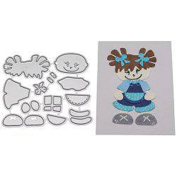 Cool Girl Design Carbon Steel Cutting Dies -