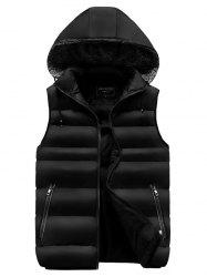 Simple Comfortable  Warm Vest -