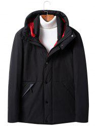 Winter Men's  Duck Hood Short Parka -