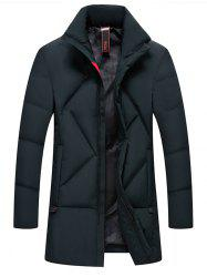 Simple Creative  Men's Long Thick Coat -