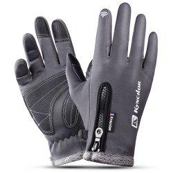 Outdoor Waterproof Windproof Men's Gloves for Riding Mountaineering Ski -