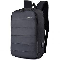 Men Charging Anti-theft Stylish Notebook Travelling Backpack -
