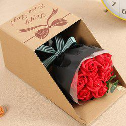H83 Creative Hand Bouquet Box 520 Gift Soap Flower -