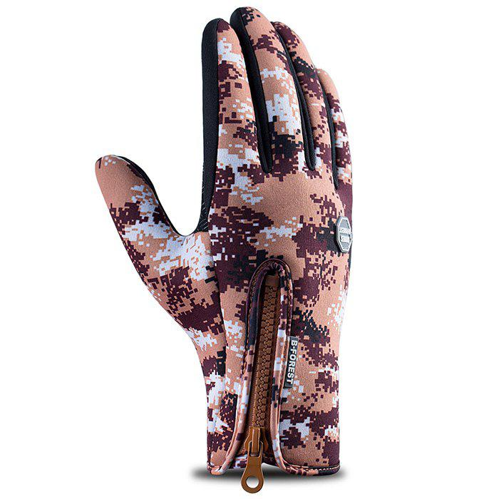 Affordable Outdoor Riding Waterproof Windproof Camouflage Gloves