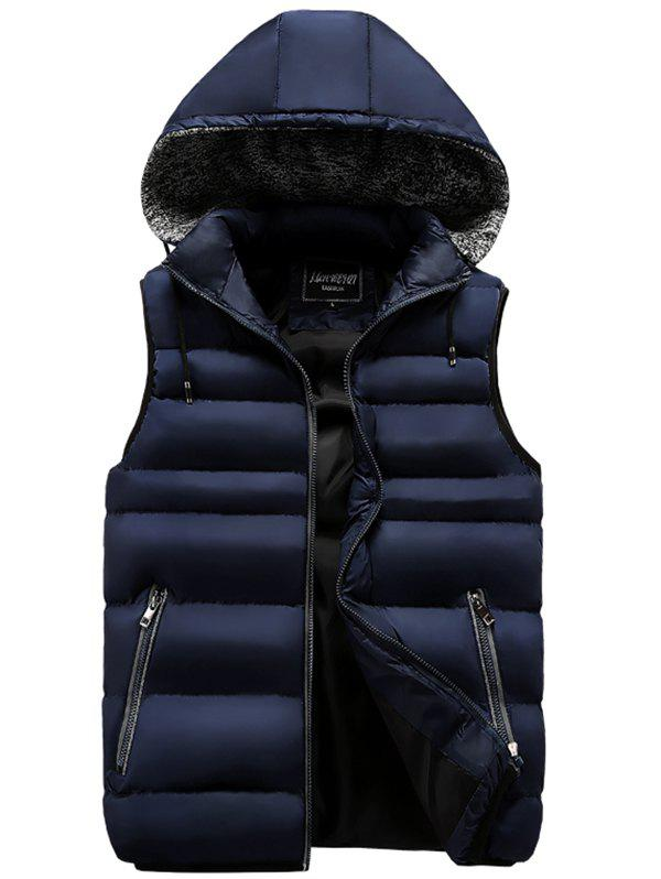 Gilet chaud simple et confortable