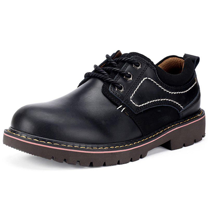 Affordable Outdoor Casual Men's Leahter Shoes
