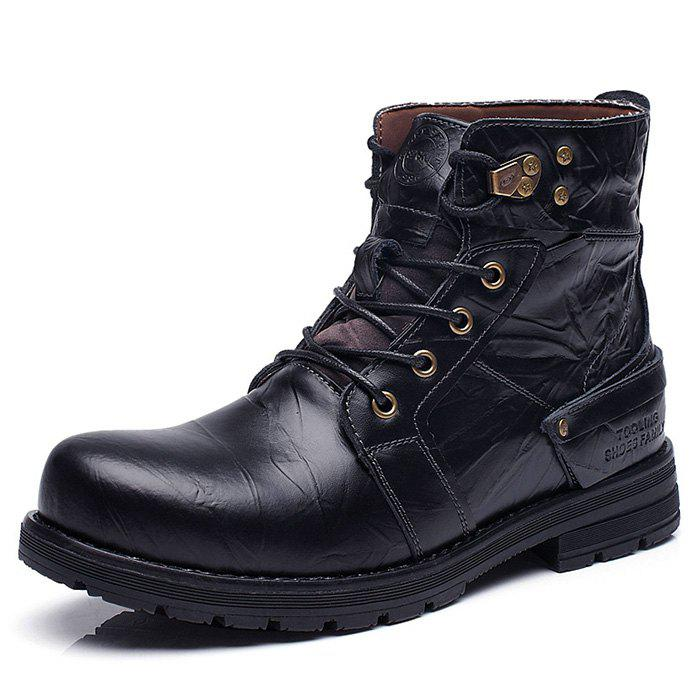 Fancy Fashion Trend Tooling Men's Boots
