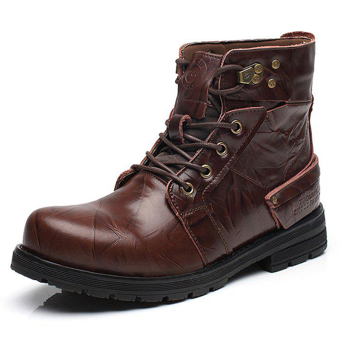 Trendy Fashion Trend Tooling Men's Boots
