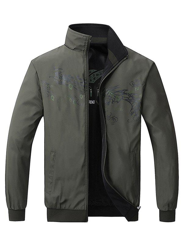 Sale 20188 - 802 Men's Casual Spring and Autumn New Handsome Jacket