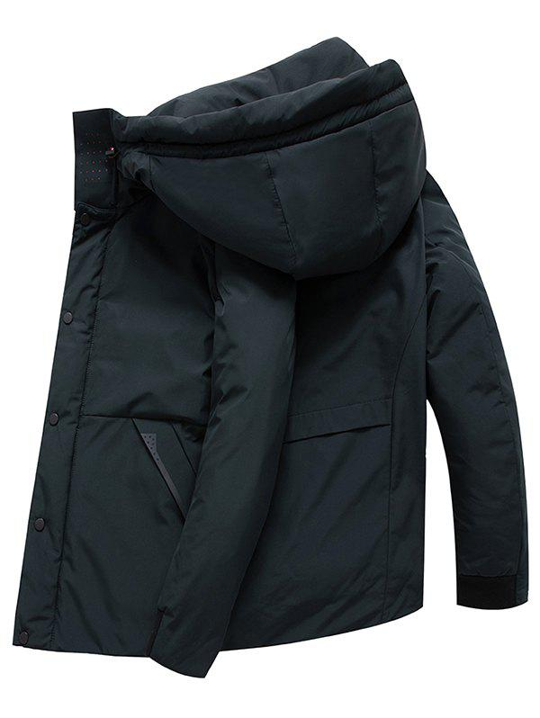 Fashion Winter Men's  Duck Hood Short Parka