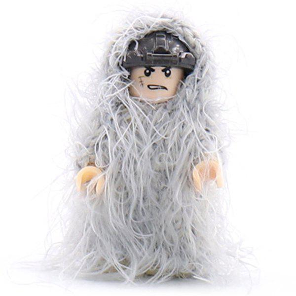Buy Military Building Blocks Man-made Accessories Ghillie Suit