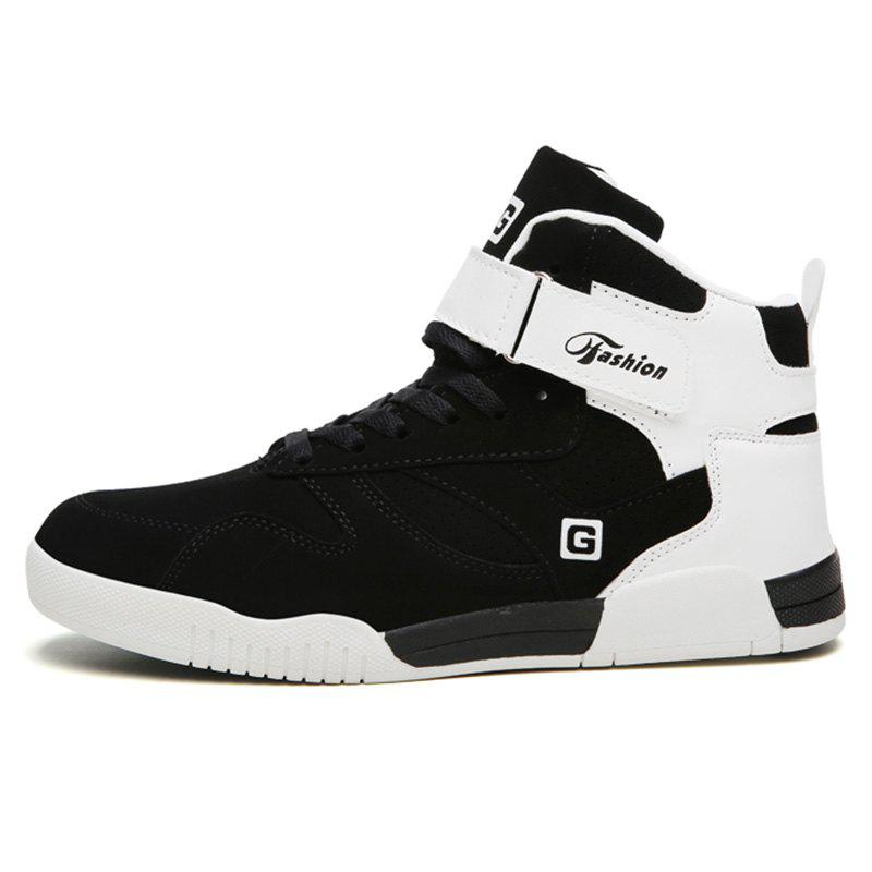 Buy Men Fashionable Outdoor High-top Sports Shoes