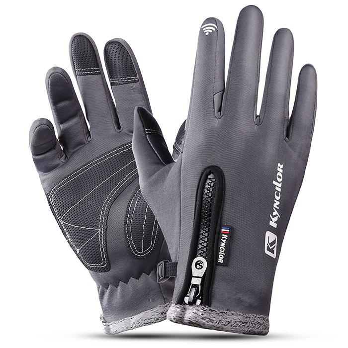Best Outdoor Waterproof Windproof Men's Gloves for Riding Mountaineering Ski