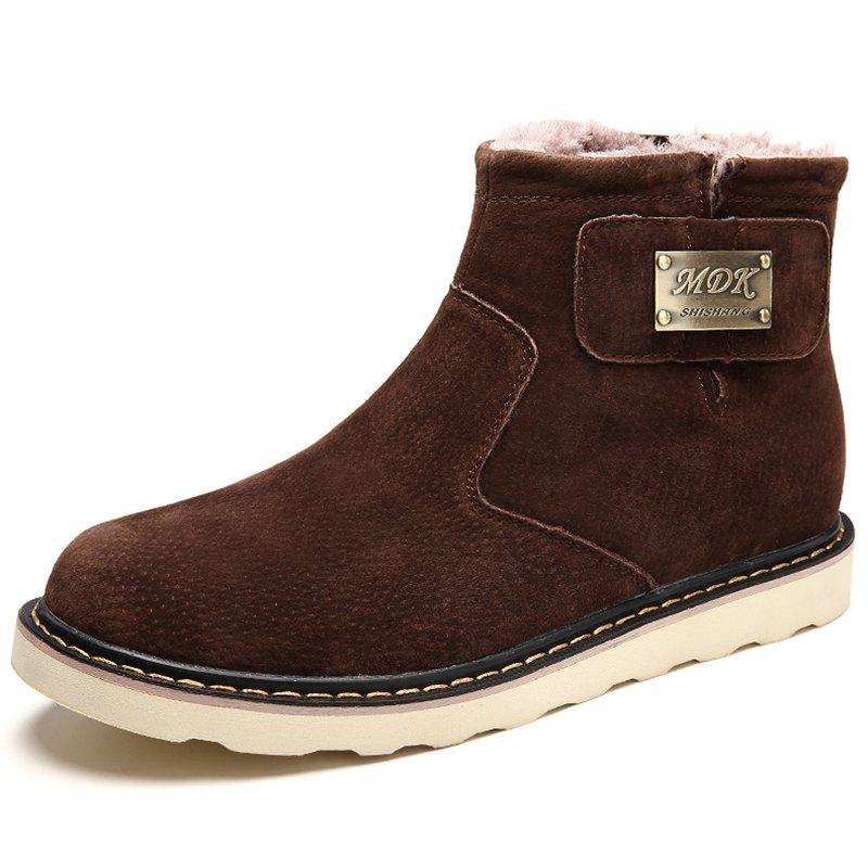 Discount Men's Plus Velvet Warm Snow Boots
