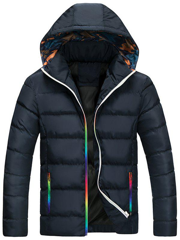 New Men's Casual Hooded Padded Coat