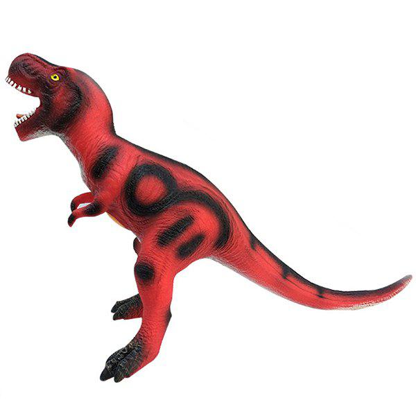 Unique Sound Simulation Soft Rubber Dinosaur Toy