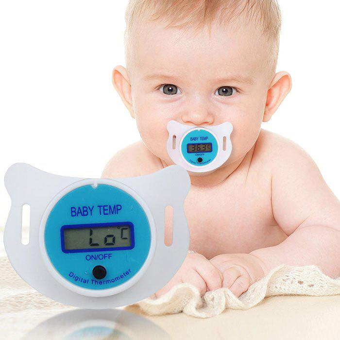 Online Baby Children's Nipple Thermometer Medical Silicone Pacifier LCD Digital Health Safety Care Tool