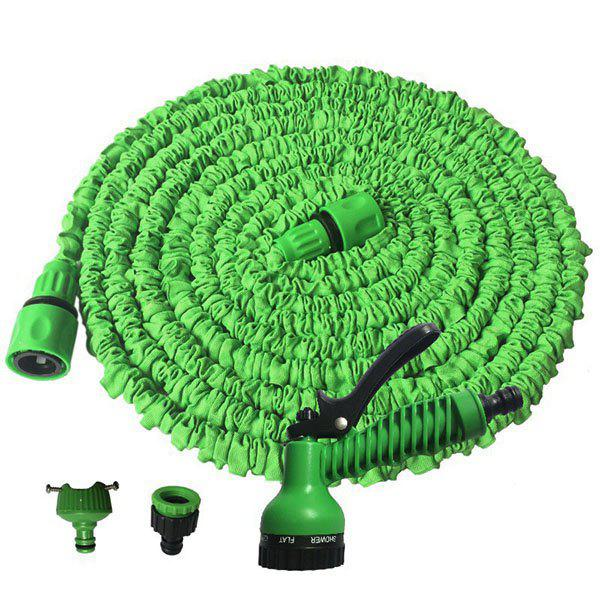 Outfits 45m Magical 3 Times Telescopic Water Pipe 7-speed Multi-function Water Gun Garden Watering Spray Set