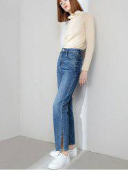Women's High-rise Open-leg Jeans from Xiaomi Youpin -