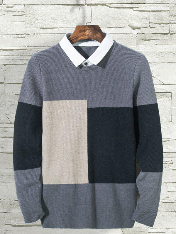 Unique 3307 - A662 Personality Handsome Sweater for Male