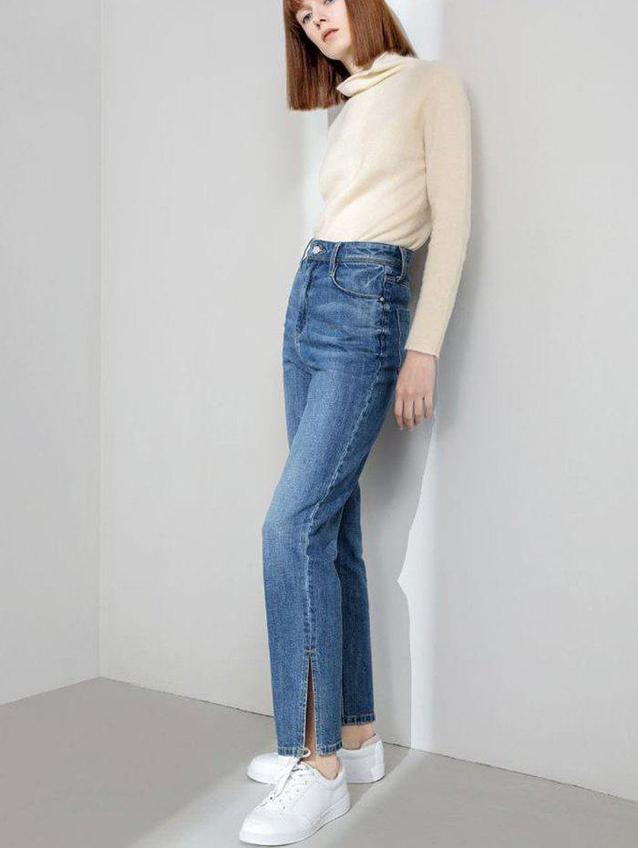 Fancy Women's High-rise Open-leg Jeans from Xiaomi Youpin