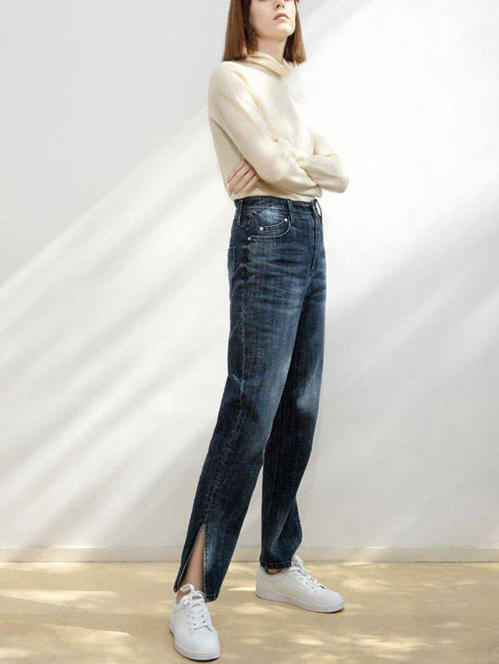 Affordable Women's High-rise Open-leg Jeans from Xiaomi Youpin