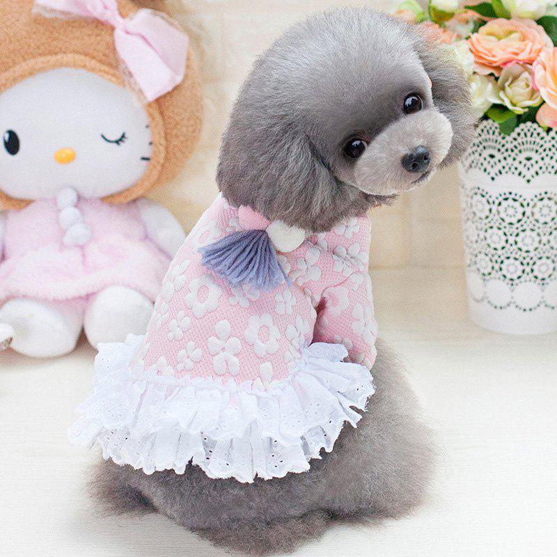 Chic XL Size Warm-keeping Dog Clothes