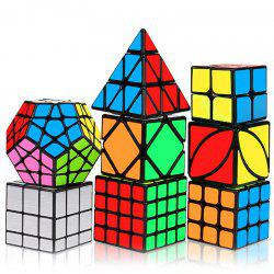 MO FANG GE ZCLH88 8 Magic Cubes Bundle for Kids -
