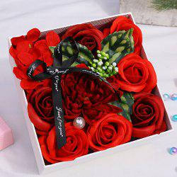 Simulation Soap Rose Set -