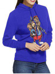 W11012 Ladies Trend Hooded Bagless Sweatshirt -