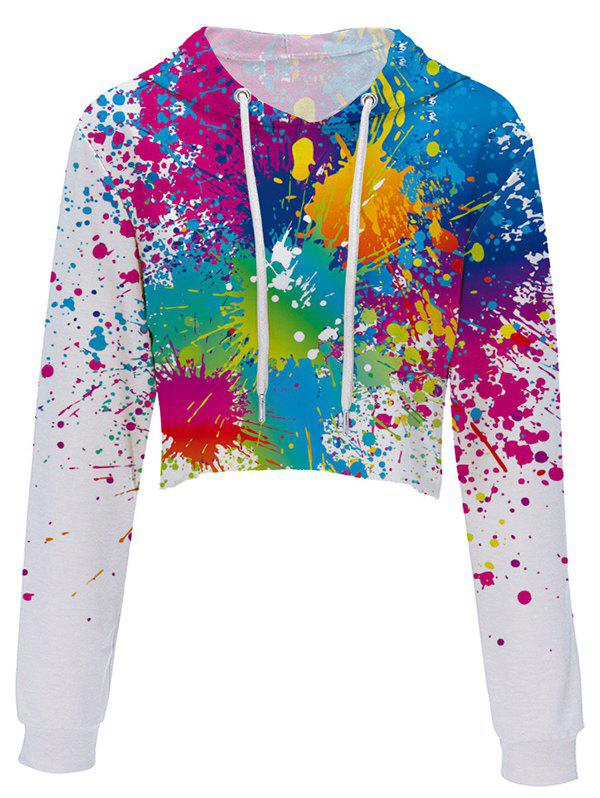 Latest Digital Printing Fashion Trend Ladies Umbilical Hoodie