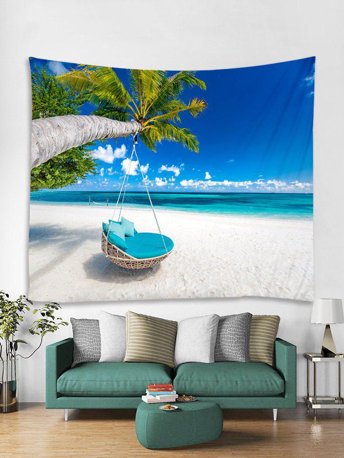 Buy Beach Palm Tree Print Tapestry Wall Hanging Art Decoration