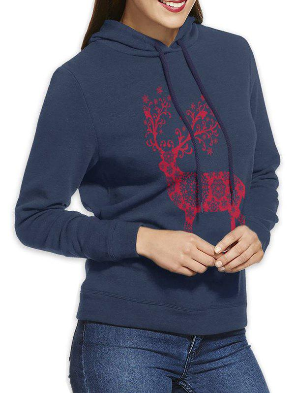 Outfit W11016 Fashion Cotton Hooded Bagless Sweatshirt