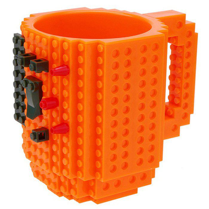 Fashion Large Particle Building Block Mug Cup
