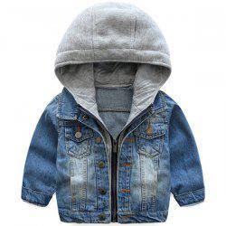 Spring Autumn Korean Denim Tops Casual Children's Jacket -