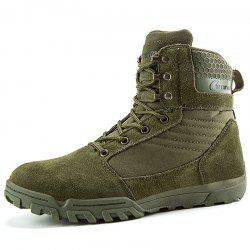 High-top Outdoor Hiking Boots -