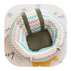 Creative Baby Learning Chair Plush Toy Small Sofa Infant Safety Shatter-resistant Seat -