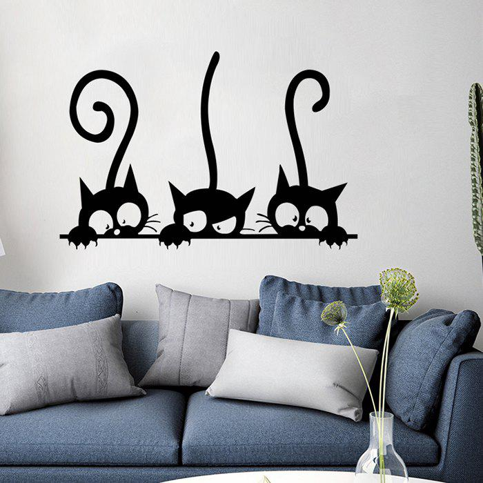 Three Kittens Decoration Painting Wall Stickers