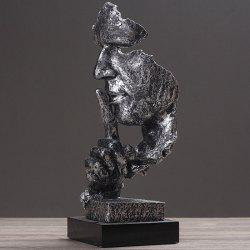 Creative Figure Abstract Sculpture Ornament Retro Model -
