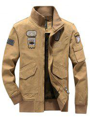 Air Force No. 1 Military Uniform Collar Jacket -