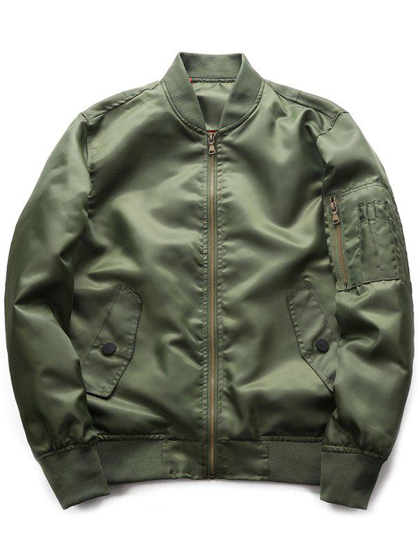 Buy Fashion Sports Casual Stand Jacket