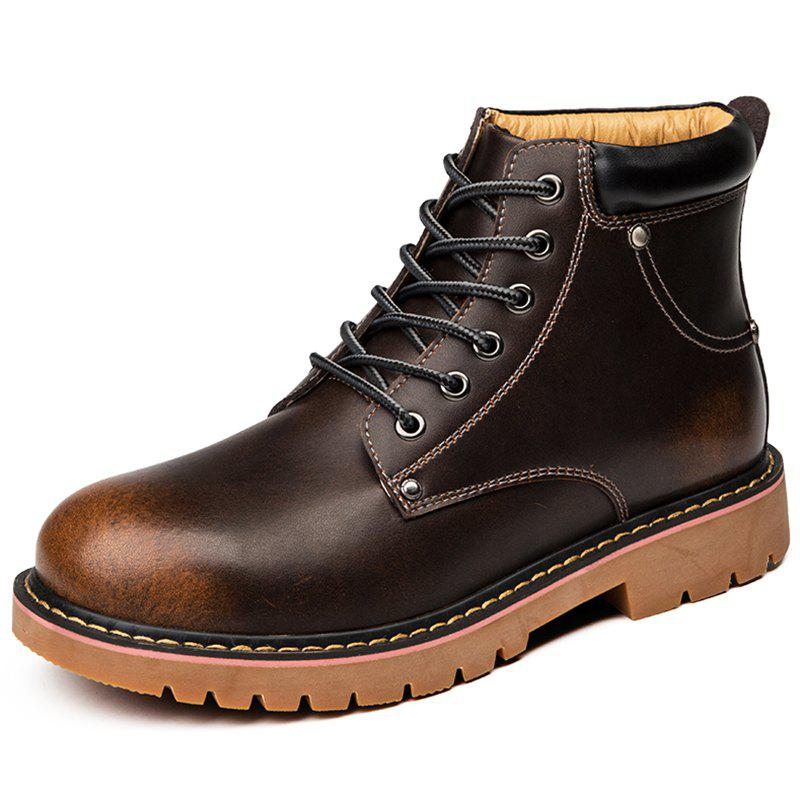 New Warm Cold-proof Trend British Men's Boots